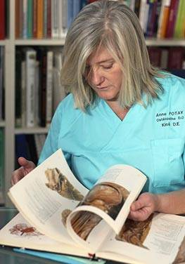 spécialités publications anne potay ostéopathe